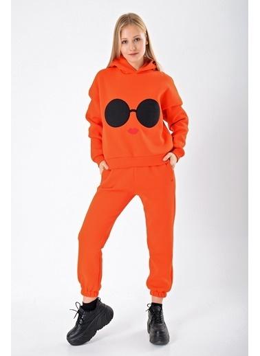 Goja Sport Pantolon Oranj